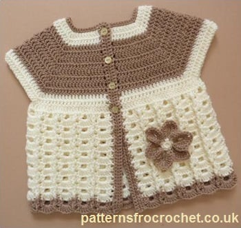 Baby Crochet Patterns For Summer : Baby Summer Coat ~ FREE crochet Pattern