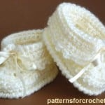 Baby Booties by Patterns For Crochet