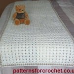 Bed Runner ~ Patterns For Crochet