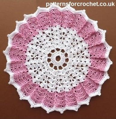 Table Center Doily ~ Patterns For Crochet