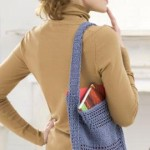 Eco-Friendly Tote by Mary Jane Protus for Red Heart