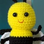 Crochet Baby Bee - Red Heart