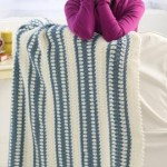 Blue Ice Throw ~ Glenda Winkleman – Red Heart