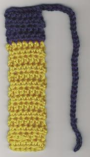 Bookmark for Dad ~ Crochet Parfait