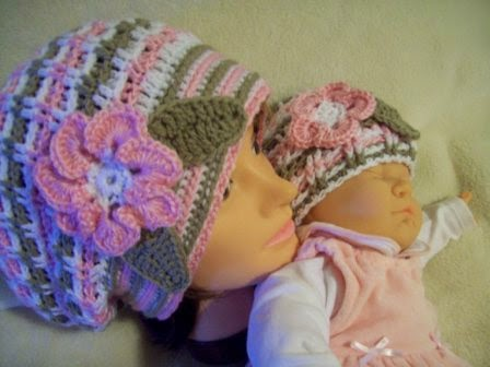 Mothers Beret by Cats-Rockin-Crochet