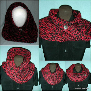 Ali Mobius Cowl by Jessie At Home