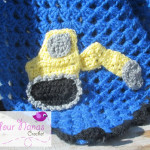 Digger Applique ~ Knot Your Nana's Crochet