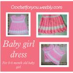 Crochet Baby Girl Dress ~ Erangi Udeshika - Crochet For You
