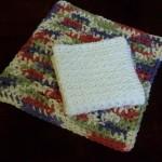 Crochet Thread Dish Cloth ~ Rhelena