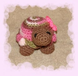 Petunia the Turtle by Stormy'z Crochet Patterns