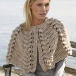 Cape with Shell by DROPS Design