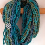 Artfully Simple Infinity Scarf ~ Moogly