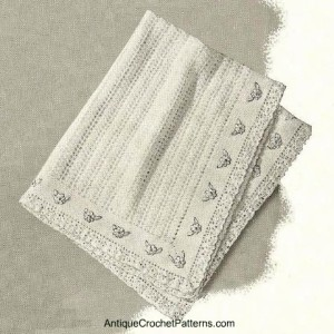 Crochet Baby Blanket ~ Antique Crochet Patterns