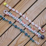 Beachy Little Bracelet #3 ~ Mr. Micawber's Recipe for Happiness