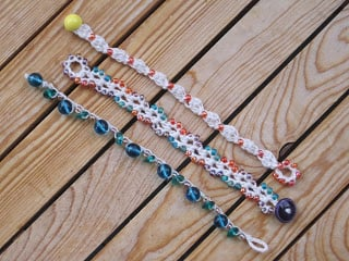 Beachy Little Bracelet #3 by Mr. Micawber's Recipe for Happiness