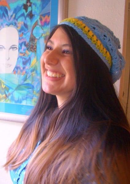 Summertime Slouchie Hat ~ Crochet Parfait