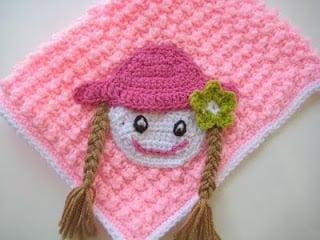 Appliqued Bubble Wrap Crochet Blanket by Crochet Dreamz