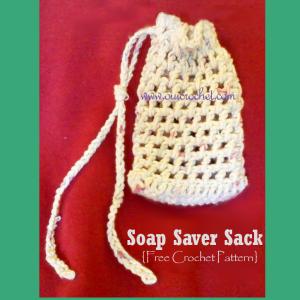 Crochet Soap Sack by Oui Crochet
