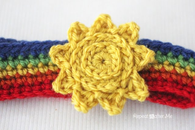 Crochet Sun by Repeat Crafter Me