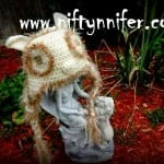 Owl Hat ~ Jennifer Gregory - Niftynnifer's Crochet & Crafts