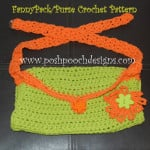 Fanny Pack Purse ~ Sara Sach - Posh Pooch Designs