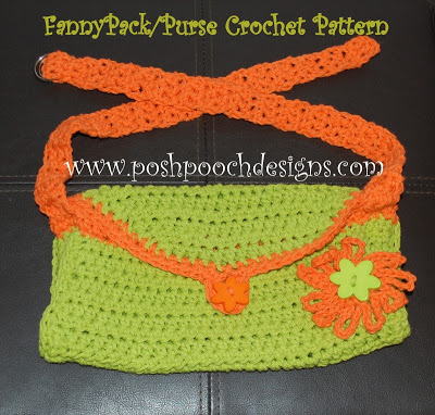 Fanny Pack Purse by Sara Sach of Posh Pooch Designs