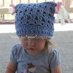 Piggy tail Children's Chemo Hat ~ Sara Sach - Posh Pooch Designs