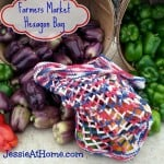 Farmers Market Hexagon Bag by Jessie At Home