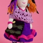 Artistic Annie Doll ~ Michele Wilcox - Red Heart