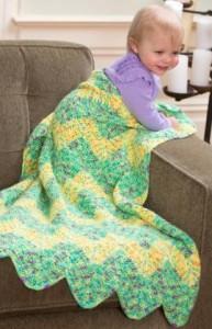 Chevron Baby Blanket ~ Laurinda Reddig