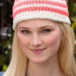 Have a Stripe Hat ~ Katherine Eng - Red Heart