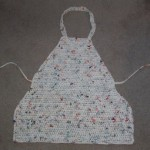 Plarn Apron ~ My Recycled Bags