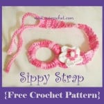 Crochet Sippy Strap ~ Oui Crochet