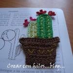 Cactus Bookmark ~ Bigu Handmade