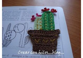 Cactus Bookmark by Bigu Handmade