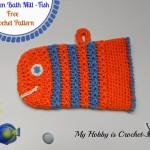 Fish Bath Mitt ~ My Hobby is Crochet