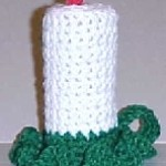 Christmas Candle ~ Crochet 'N' More