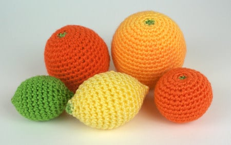 Amigurumi Citrus Collection by Planet June
