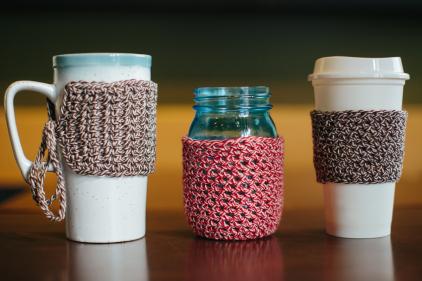 Mug Tie-Cozy by The Firefly Hook