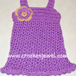 Crochet Baby Dress ~ Amy - Crochet Jewel