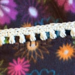 Easy Crochet Edging ~ Petals to Picots
