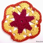 Star Hexagonal Motif ~ Beauty Crochet Pattern