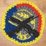 Honor Guard Coaster ~ Inner Child Crochet