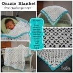 Orazio Blanket by Cre8tion Crochet