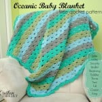 Oceanic Baby Blanket by Cre8tion Crochet
