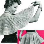 Turnabout Apron ~ Free Vintage Crochet
