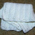 Linked Doubles Dishcloth ~ Crochet 'N' More