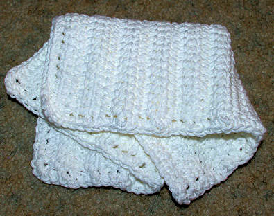 Linked Doubles Dishcloth by Crochet 'N' More