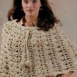The Capelet by Marilyn Coleman for Red Heart