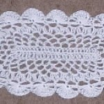 Oval Thread Doily ~ Crochet 'N' More